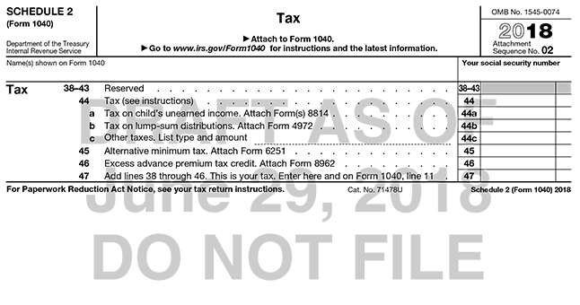 A New Look For The 1040 Tax Form Accounting Today