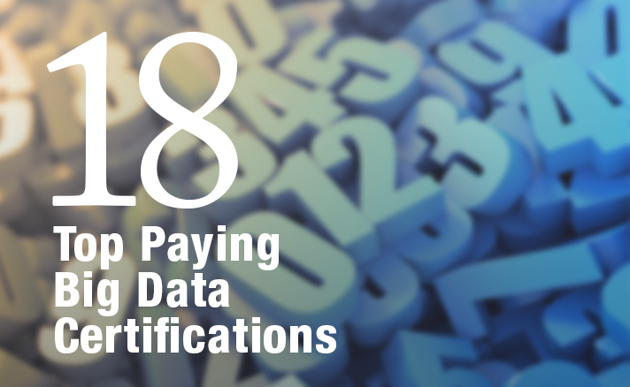 18 Top Paying Big Data Certifications | Health Data Management