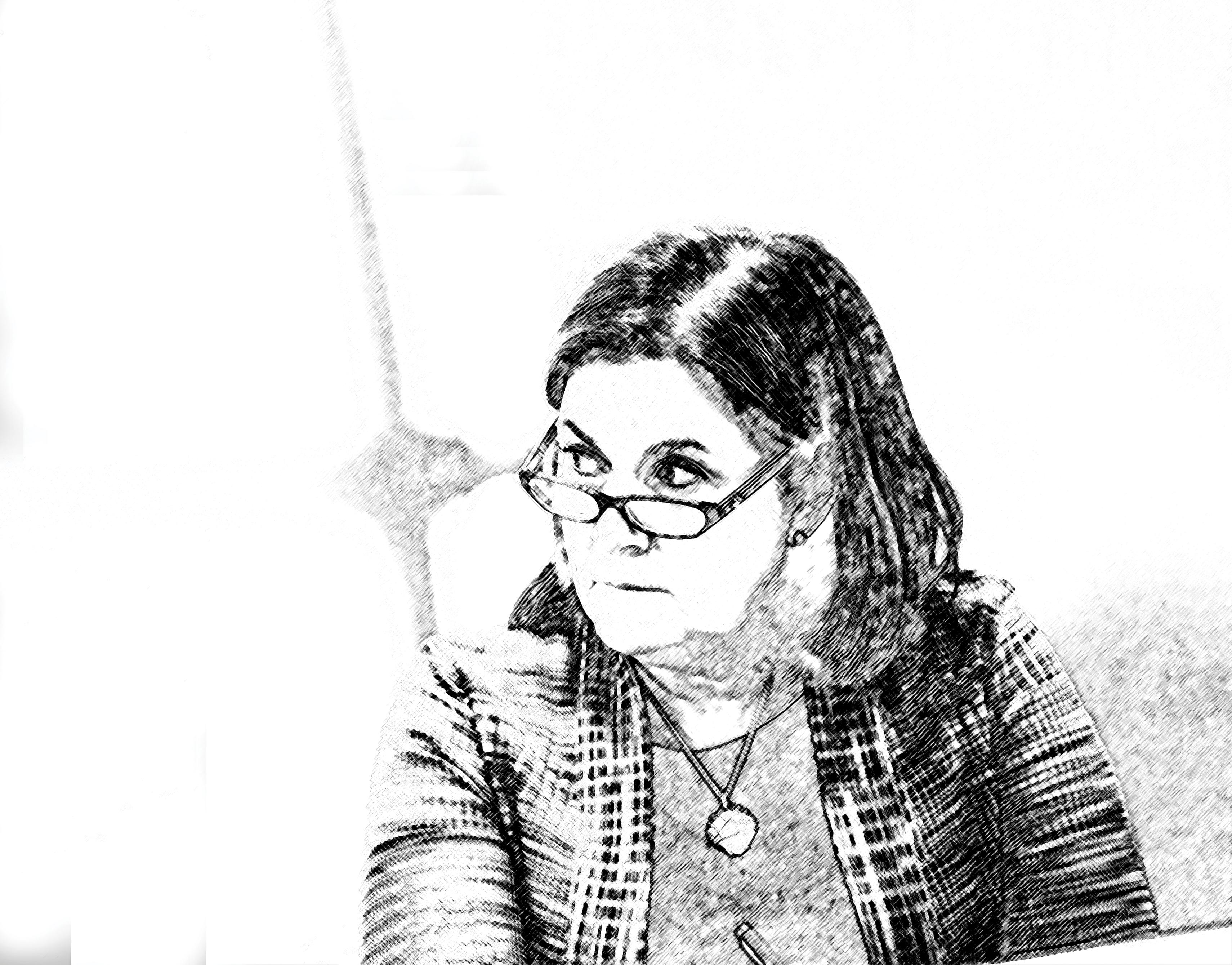 https://assets.sourcemedia.com/c6/f0/54999be343d3aa799eb89b12eb0b/george-esther-sketch.jpg